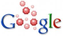 Google with flu bugs for o's