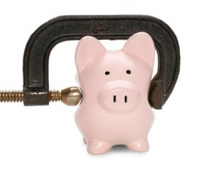 Piggy Bank in G Clamp